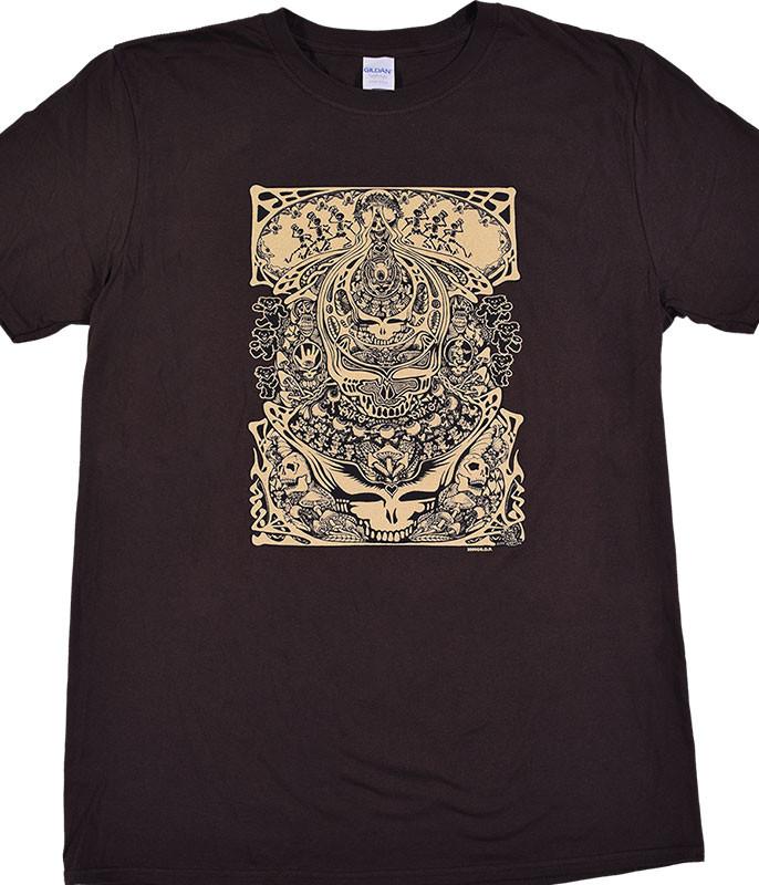 Grateful Dead Aiko Aiko Brown T-Shirt Tee