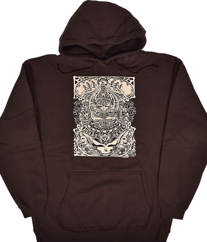 Grateful Dead Aiko Aiko Brown Hoodie