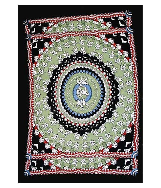 Grateful Dead Bear Black Tapestry