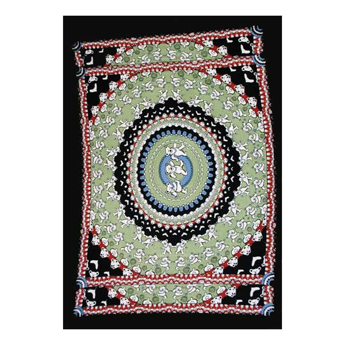 Bear Black Tapestry