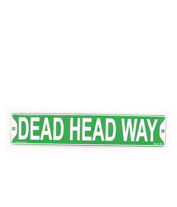 Grateful Dead Dead Head Way LP Sign