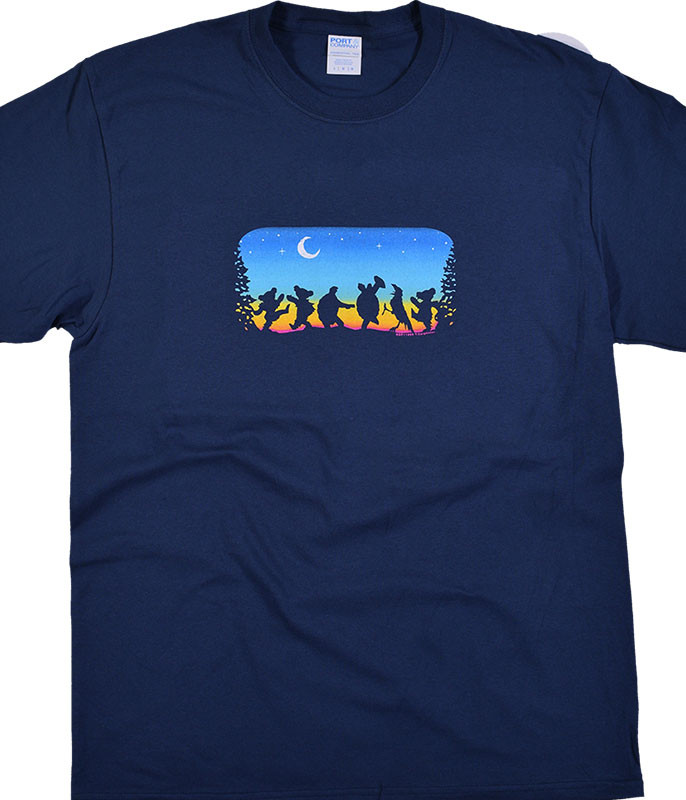 Grateful Dead Moondance Navy T-Shirt Tee