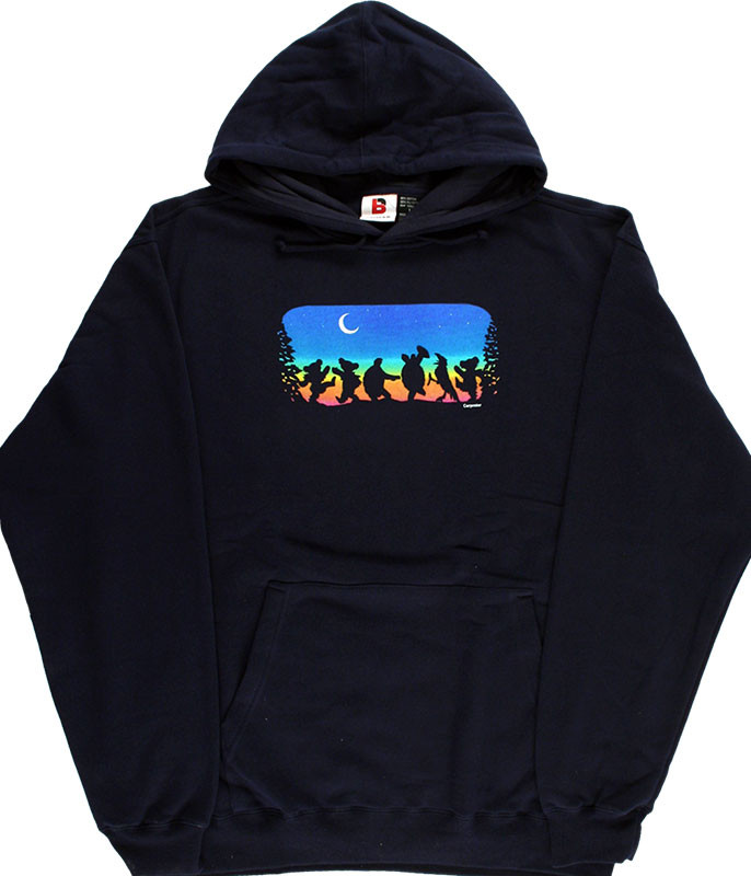Grateful Dead Moon Dance Navy Hoodie