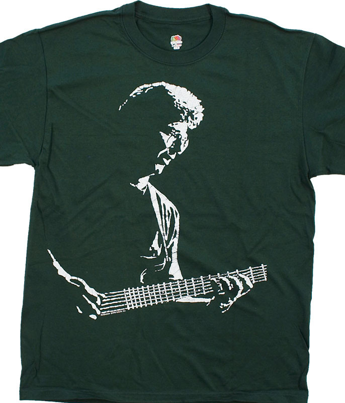 Grateful Dead Phil Lesh Green T-Shirt Tee