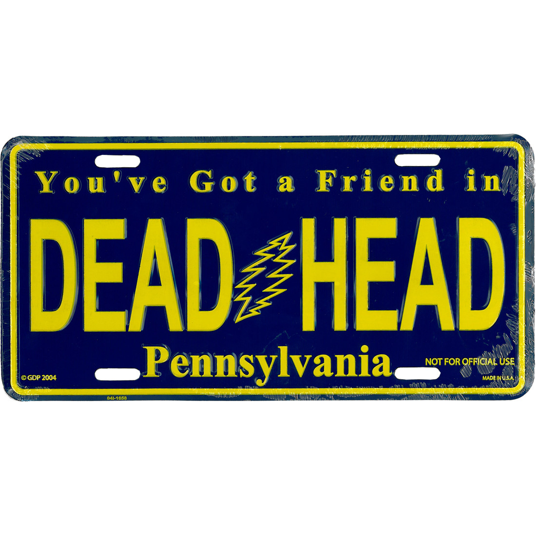 GD Pennsylvania License Plate