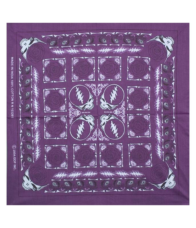 GD Rose Purple Bandana