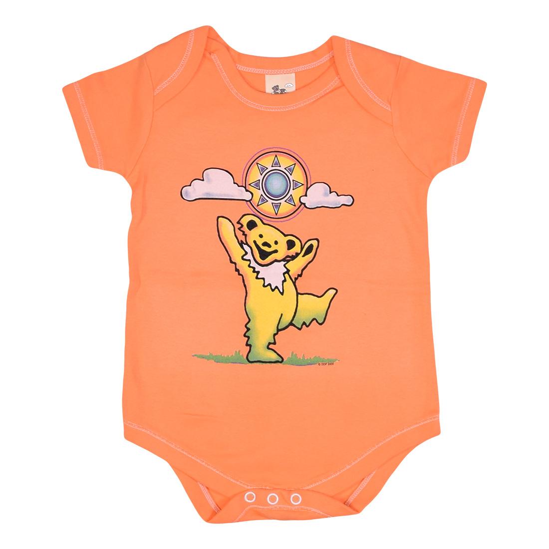 Sunny Bear Orange Onesie