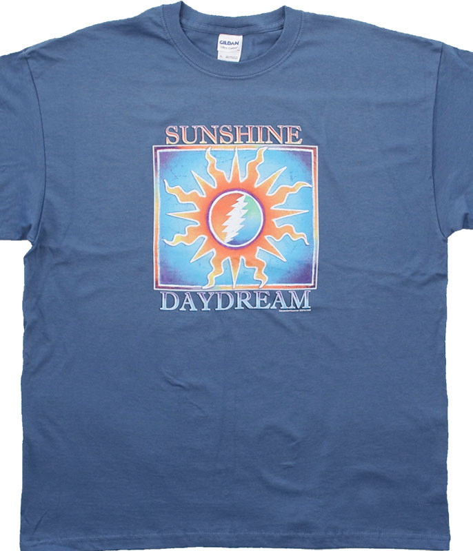 Grateful Dead Sunshine Daydream Blue T-Shirt Tee
