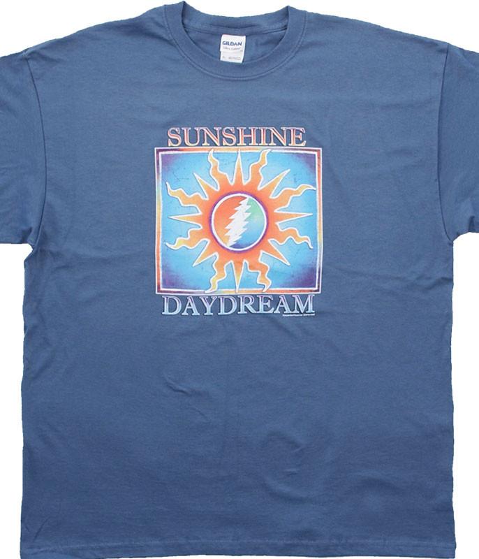 Grateful Dead Sunshine Daydream Blue T-Shirt Tee