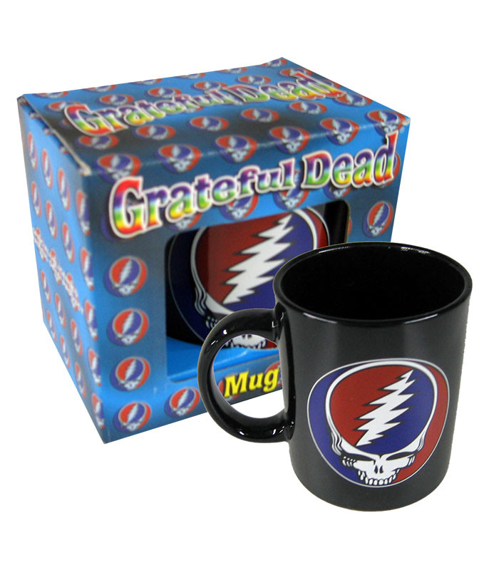 Grateful Dead Steal Your Face Mug Black