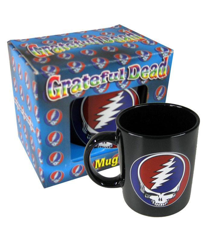 Grateful Dead Steal Your Face Mug Black