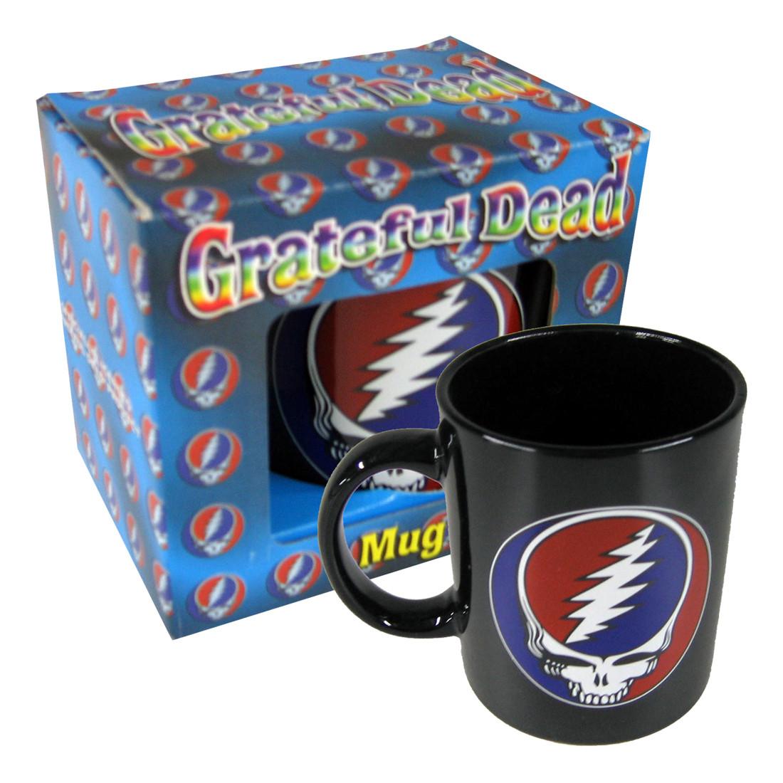 Steal Your Face Mug Black