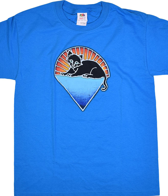 Grateful Dead Steal Your Kitty Youth Blue T-Shirt Tee
