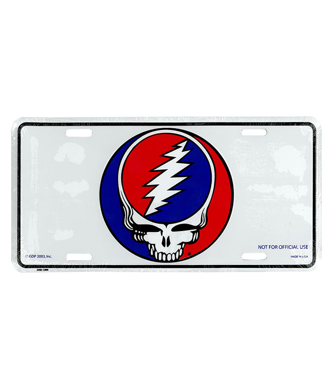 Grateful Dead GD SYF License Plate
