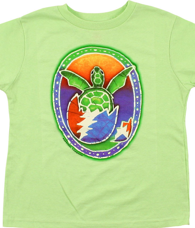 Grateful Dead Steal Your Turtle Green T-Shirt Tee