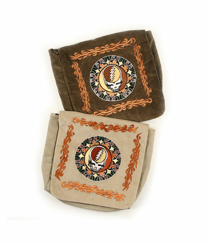 Steal Your Face Embroidered Tote Assorted Bag