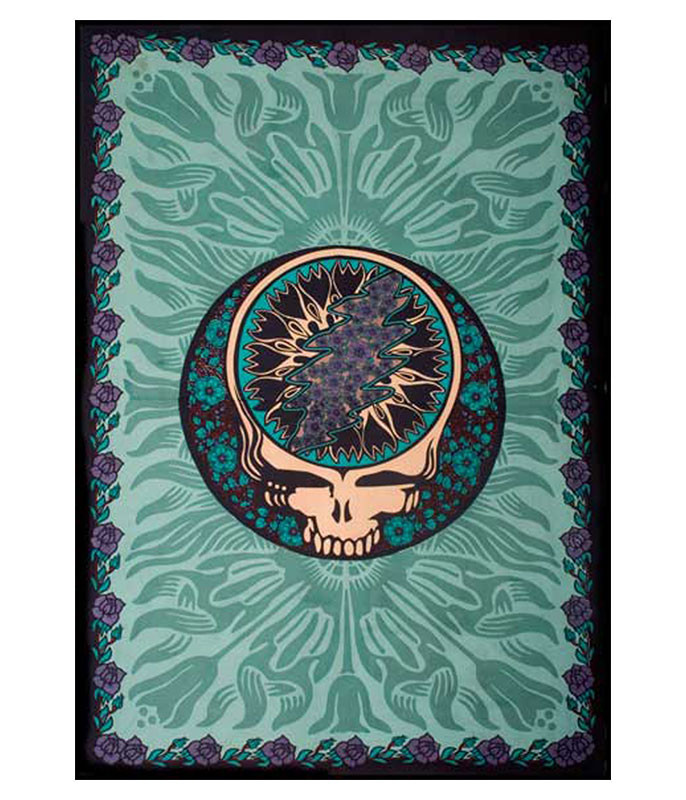 Grateful Dead Steal Your Flowers Tapestry