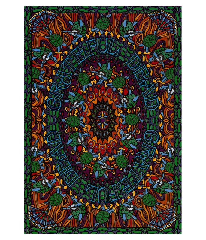 Grateful Dead GD Terrapin Dance Tapestry