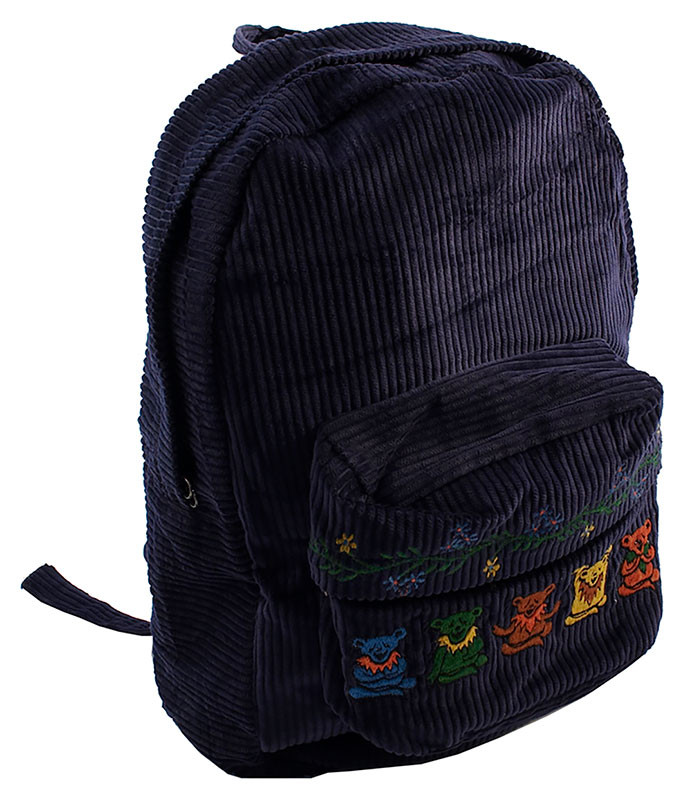 Grateful Dead GD Zen Bear Corduroy Backpack