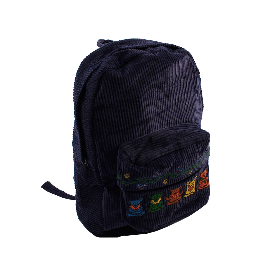 GD Zen Bear Corduroy Backpack