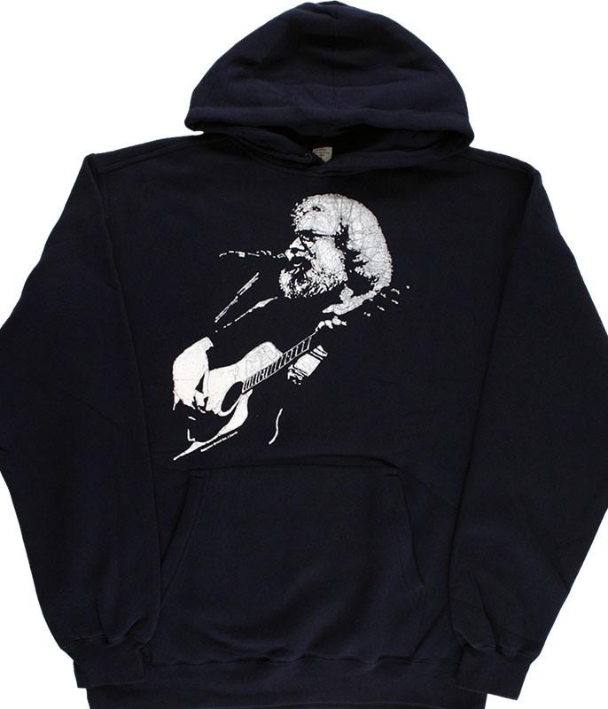 Jerry Garcia Acoustic Navy Hoodie