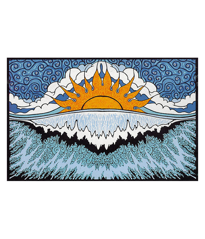 Sun Wave Tapestry
