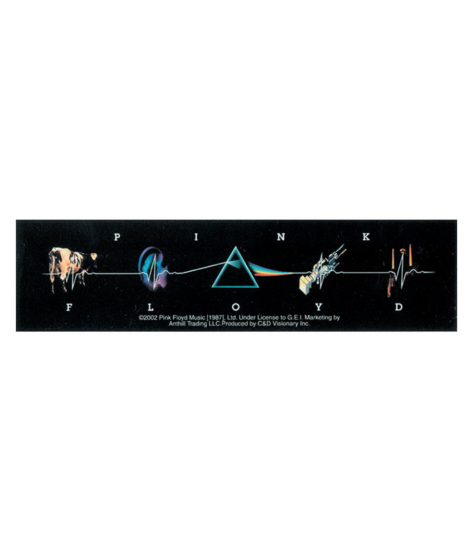 Pink Floyd Collage Sticker