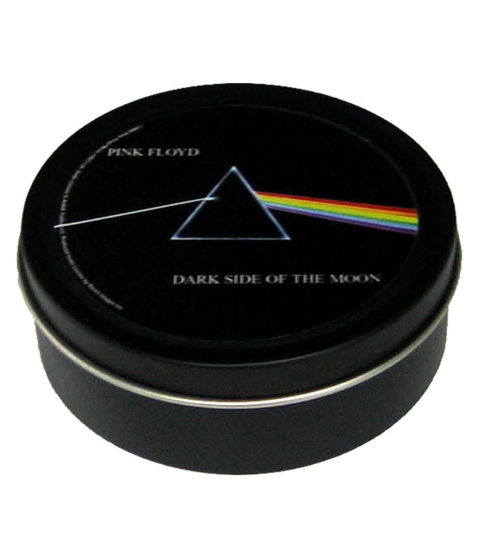 Pink Floyd Dark Side Round Black Stash Tin