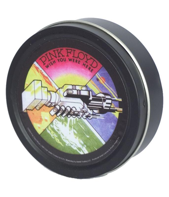 Pink Floyd Wish You Were Here Hands Black Stash Tin