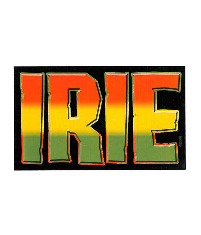 Rasta Irie Sticker