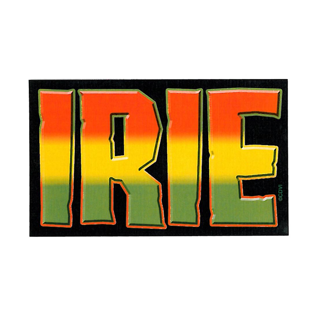 Rasta Irie Sticker