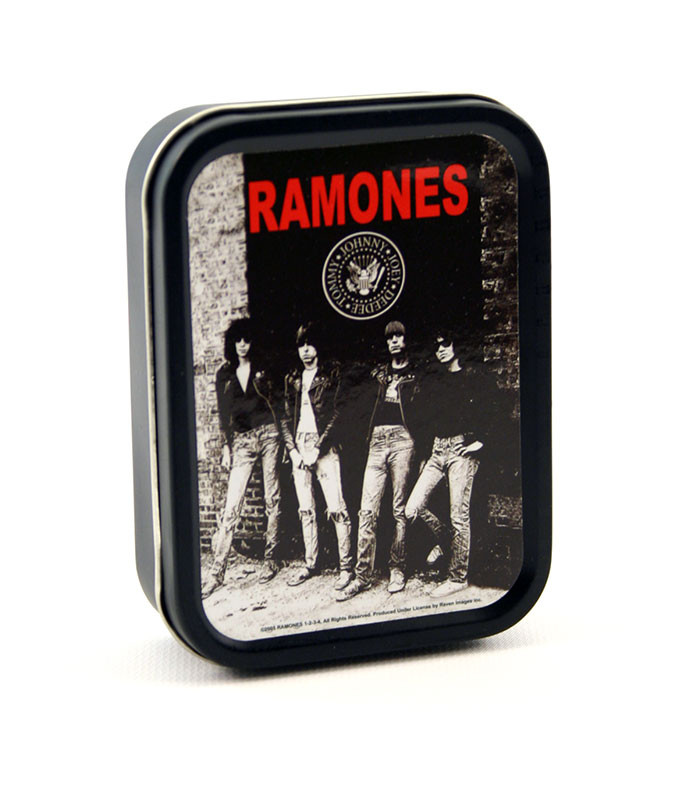 Ramones Stash Tin Black