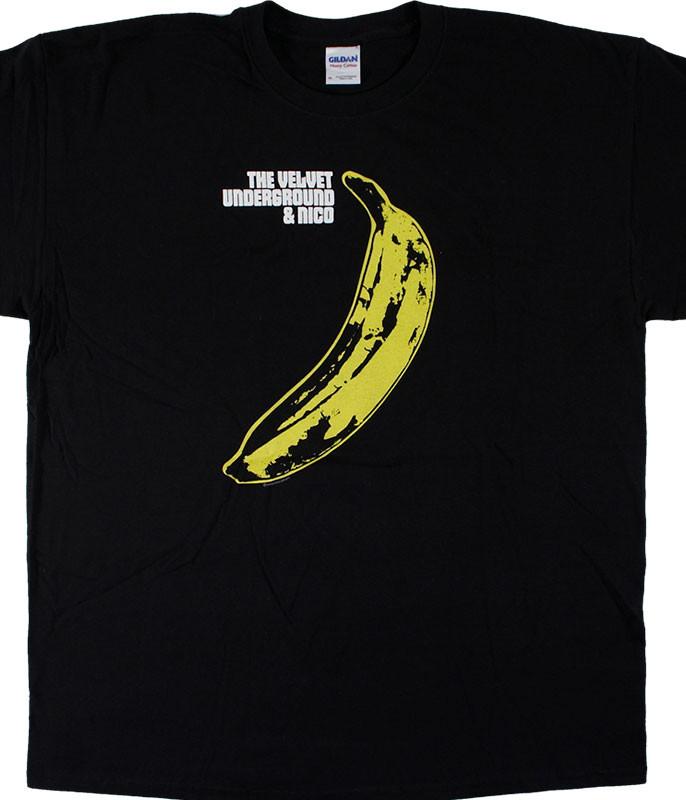 Velvet Underground Warhol Black T-Shirt Tee