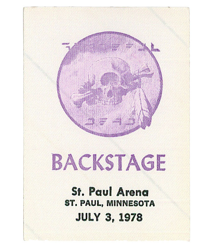The Vault Grateful Dead 1978 07-03 Backstage Pass Liquid Blue