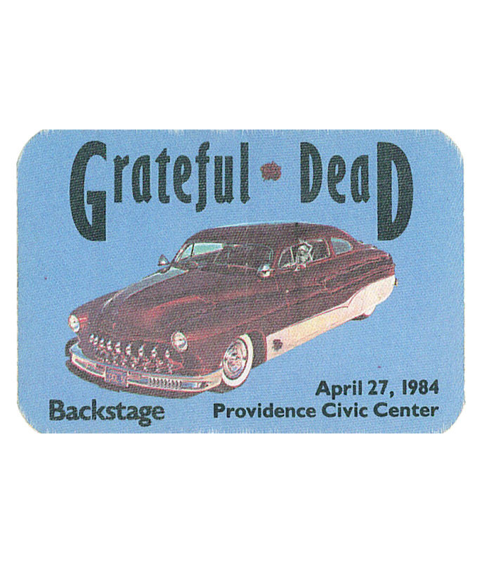 GRATEFUL DEAD 1984 04-27 BACKSTAGE PASS