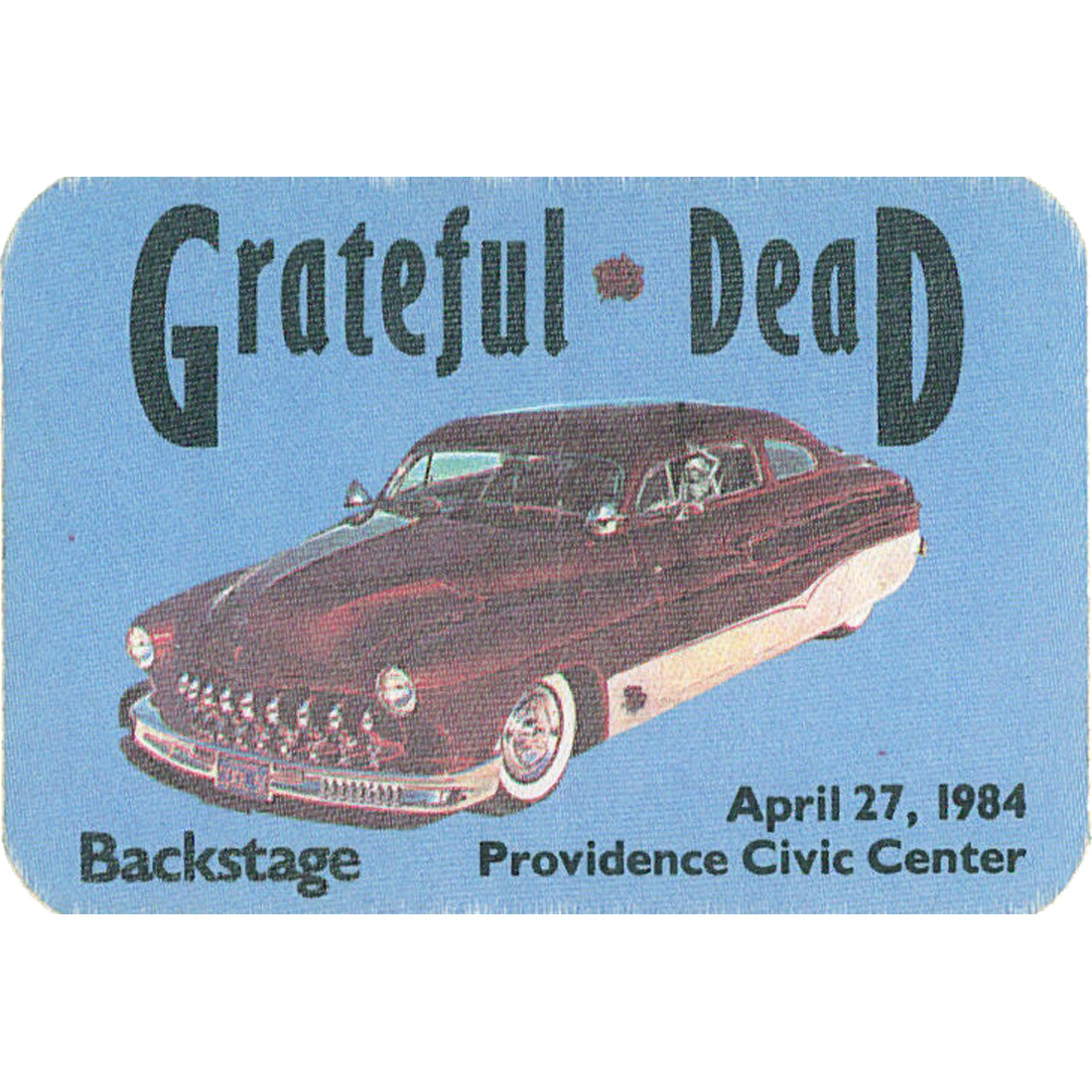 Grateful Dead 1984 04-27 Backstage Pass