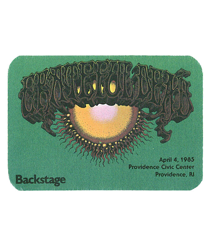The Vault Grateful Dead 1985 04-04 Backstage Pass Liquid Blue