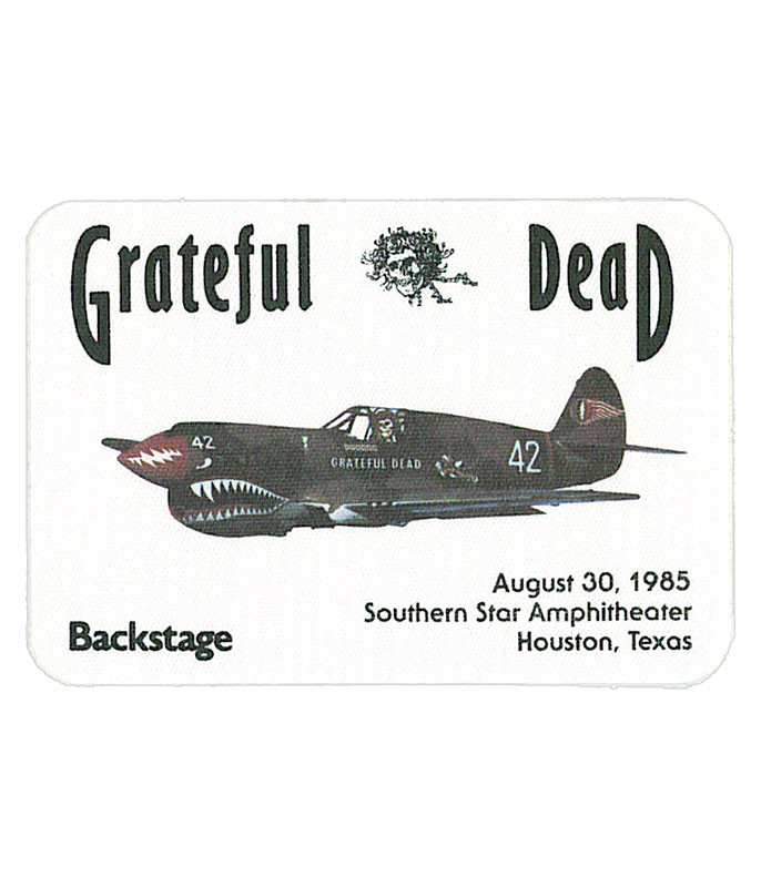 The Vault Grateful Dead 1985 08-30 Backstage Pass Liquid Blue
