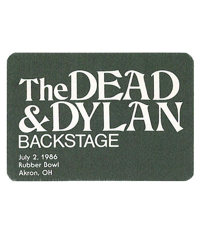 The Vault Grateful Dead 1986 07-02 Backstage Pass Liquid Blue