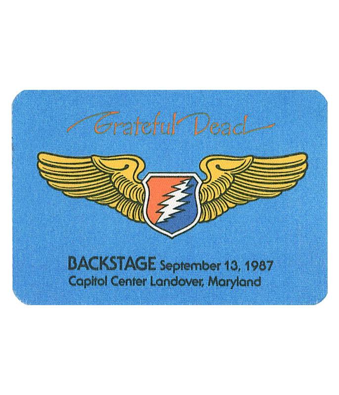 Grateful Dead 1987 09-13 Backstage Pass