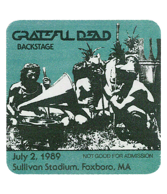 The Vault Grateful Dead 1989 07-02 Backstage Pass Liquid Blue