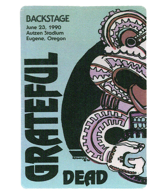 GRATEFUL DEAD 1990 06-23 BACKSTAGE PASS