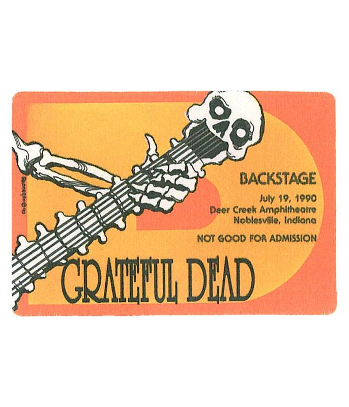 Grateful Dead 1990 07-19 Backstage Pass