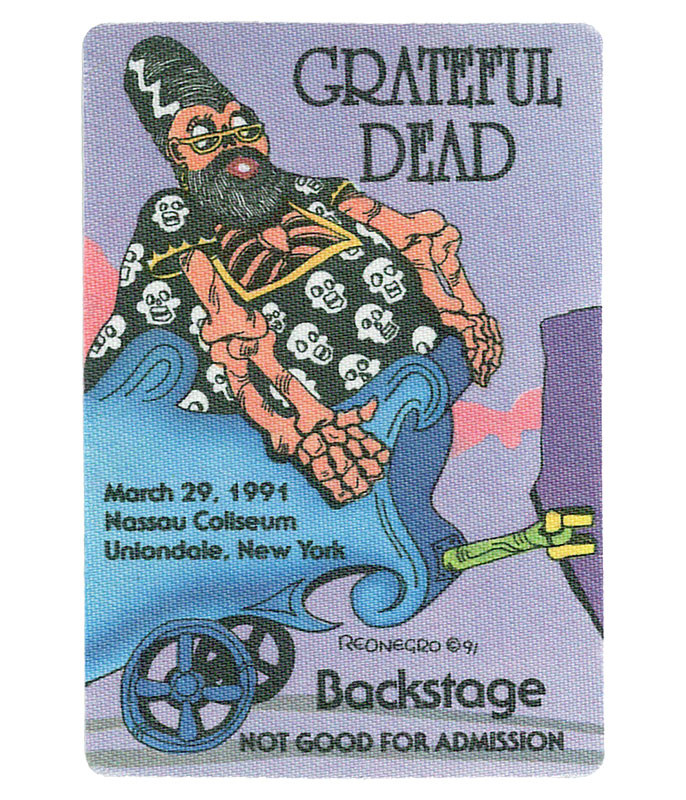 GRATEFUL DEAD 1991 03-29 BACKSTAGE PASS