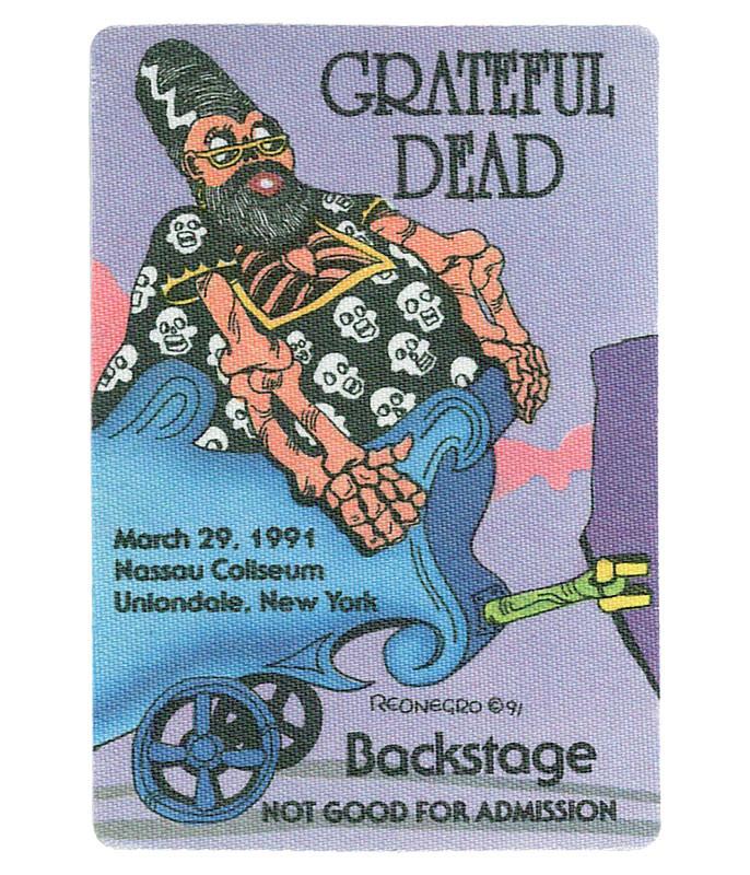 GRATEFUL DEAD 1991 03-29 BACKSTAGE PASS