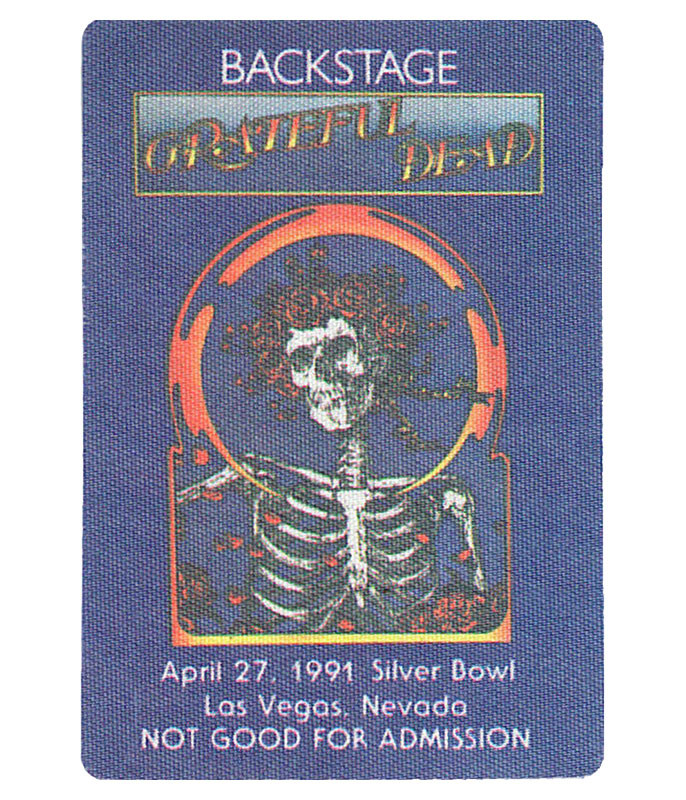 The Vault Grateful Dead 1991 04-27 Backstage Pass Liquid Blue