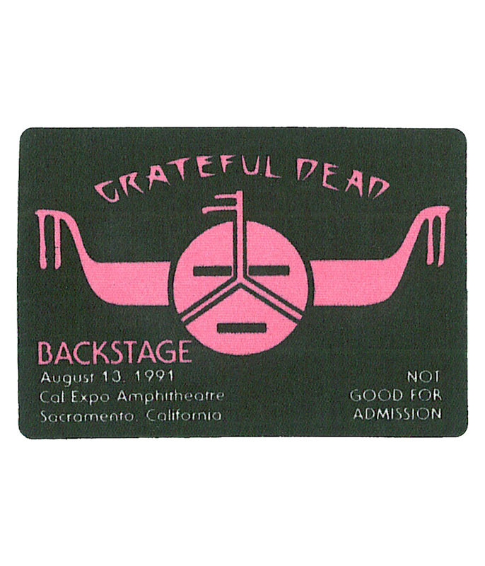 The Vault Grateful Dead 1991 08-13 Backstage Pass Liquid Blue