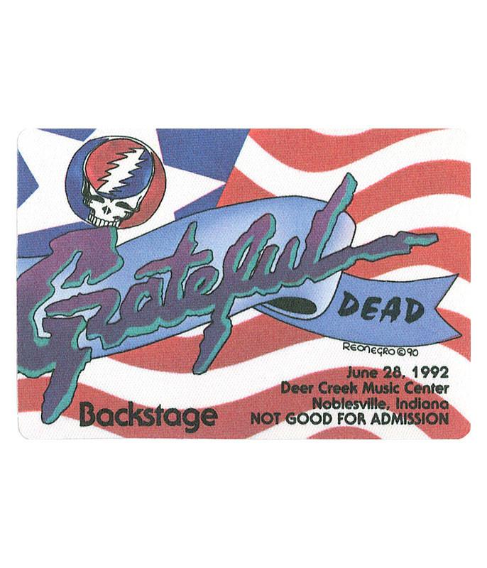 Grateful Dead 1992 06-28 Backstage Pass