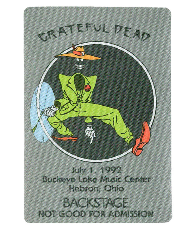 The Vault Grateful Dead 1992 07-01 Backstage Pass Liquid Blue