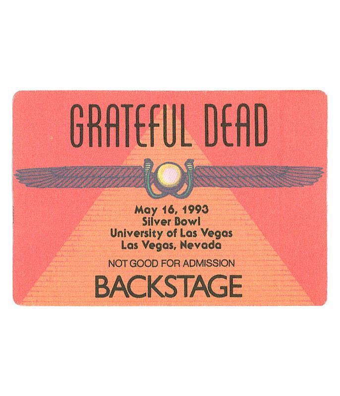 The Vault Grateful Dead 1993 05-16 Backstage Pass Liquid Blue